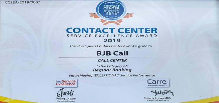 bank bjb Mendapat Penghargaan Contact Center Service ...