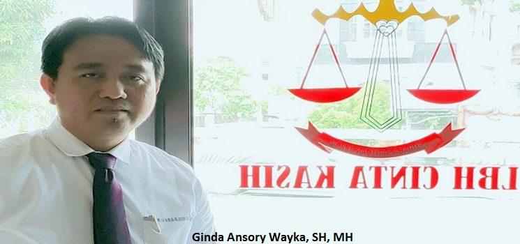 Ginda Ansory Wayka, SH, MH