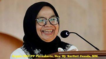 Kepala DKUPP Purwakarta, Dra.Hj. Karliati Juanda, MM