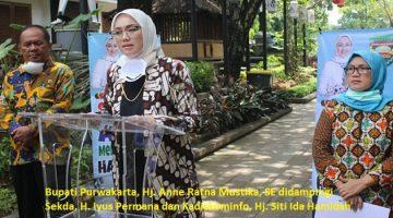 Bupati Purwakarta, Hj. Anne Ratna Mustika, SE.