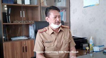 Kepala Disperindag KBB Ricky Riyadi