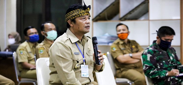 Bupati Bandung, H. Dadang M Naser