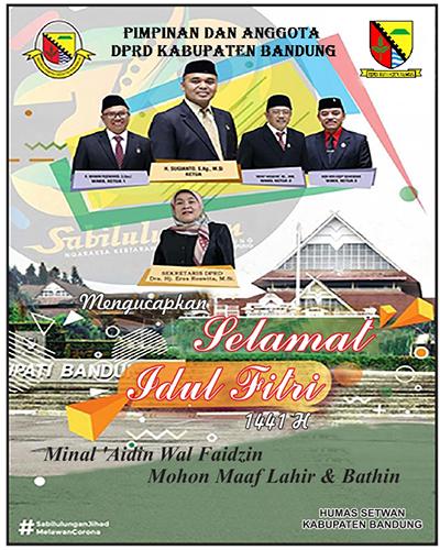 iklan Idul Fitri DPRD Kab Bandung