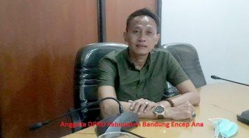 Anggota DPRD Kabupaten Bandung Encep Ana
