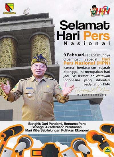 Iklan HPN dari Pemkab Bandung