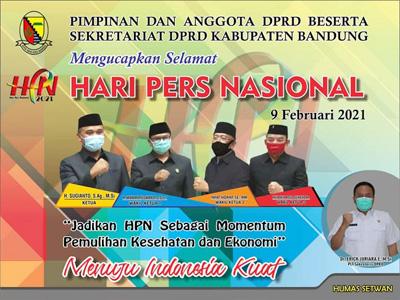 iklan HPN DPRD Kab Bandung