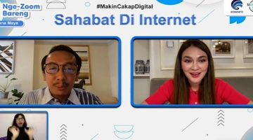 Kementerian Komunikasi dan Informatika Indonesia Kampanyekan Penggunaan Media Sosial yang Bertanggung Jawab, Didukung oleh Selebriti Luna Maya
