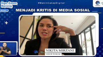 Berkolaborasi dengan Selebriti dan Influencer, Kemenkominfo Tingkatkan Kampanye Berpikir Kritis di Era Digital